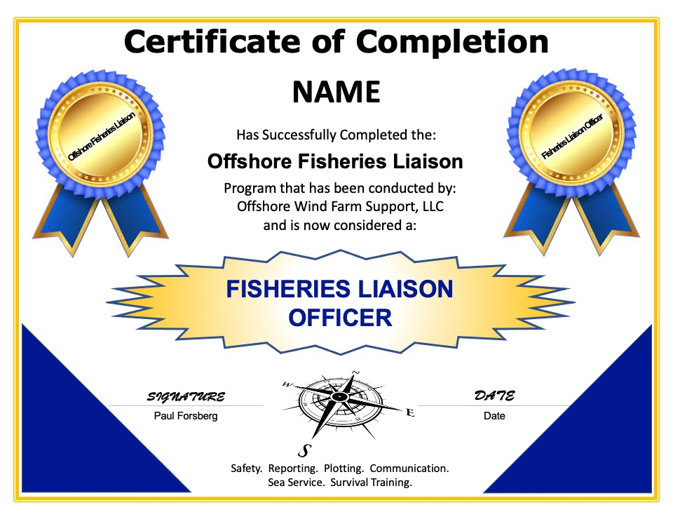Certified Fisheries Liaison Officer