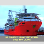 450' HEAVY LIFT VESSEL Available !